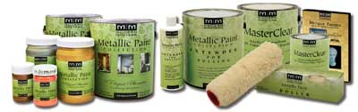 Metallic Paint Collection from Modern Masters