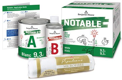 notable dry erase kit components