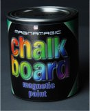 Magnamagic magnetic paint